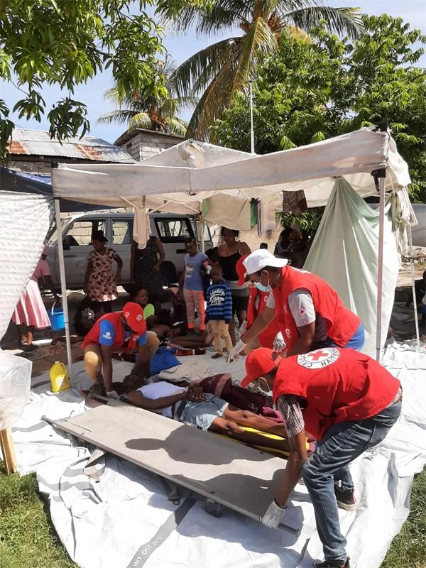 紅十字會呼籲支持海地緊急救援工作