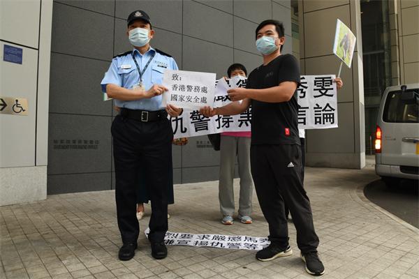 律師馬秀雯涉違國安法 團體舉報促警方國安處徹查