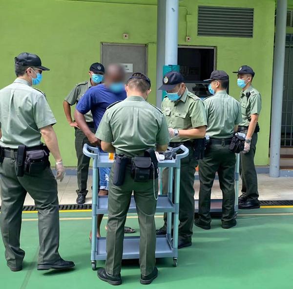 懲教署打擊大潭峽懲教所內非法集體行動