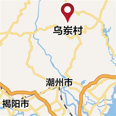 青岛平度茶山风景区地图